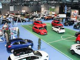 """Freiburger Automobil"" car fair"